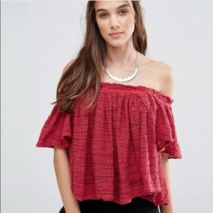 Free People Tops - Free People Off-the-Shoulder Top